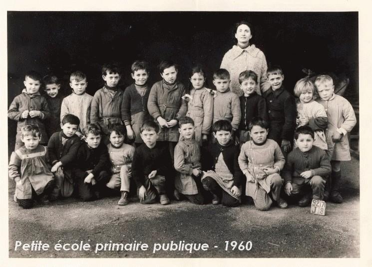 école primaire publique - petite école - 1960