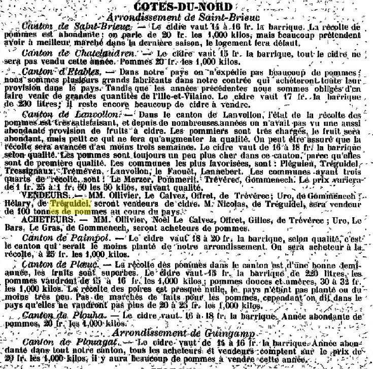 Le cidre et le poiré 05.1893