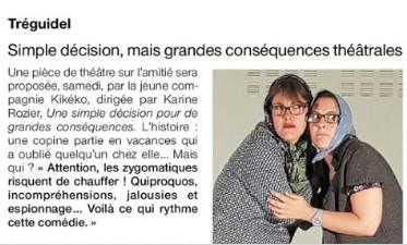 théâtre à Tréguidel