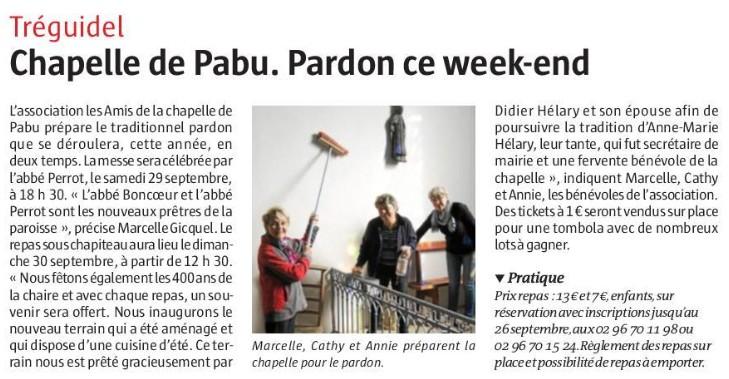 Pardon de Pabu - Tréguidel
