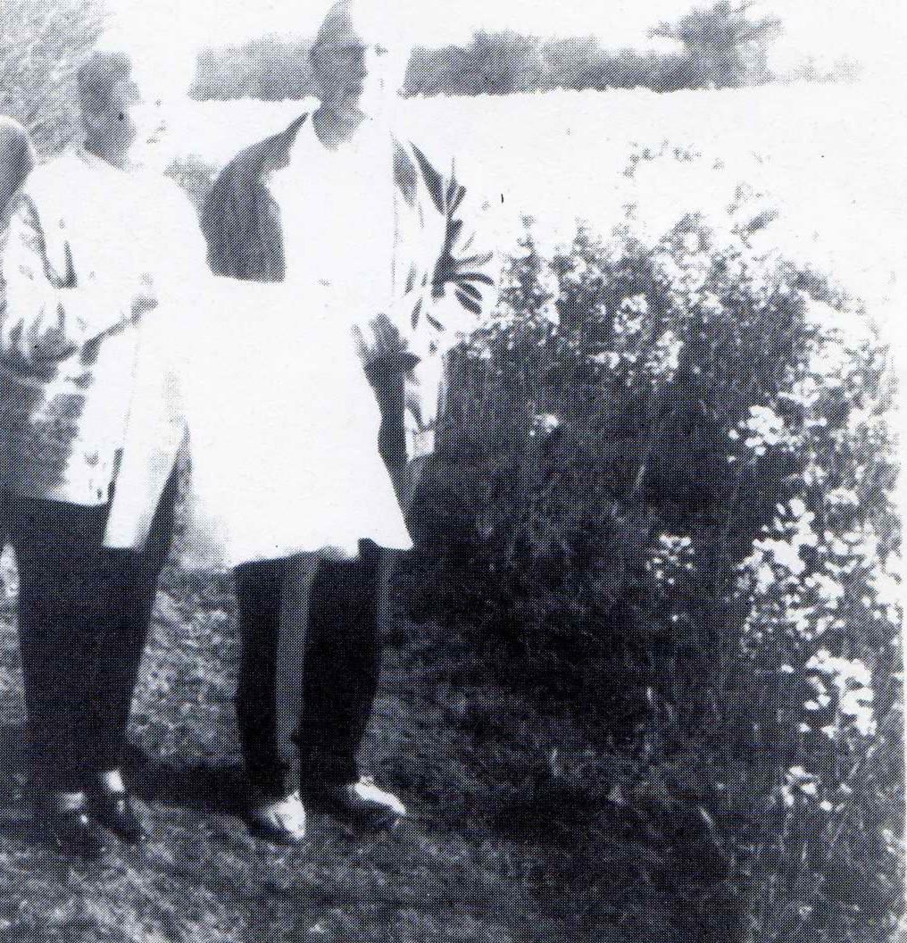 Maurice Webb à Tréguidel