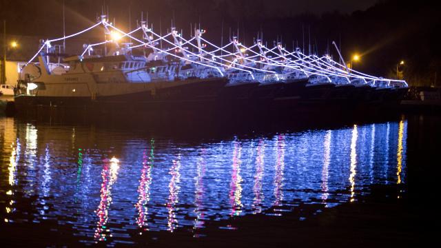 Illuminations Port du Légué – St Brieuc