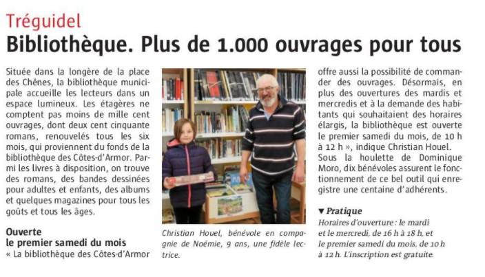Bibliothèque de Tréguidel