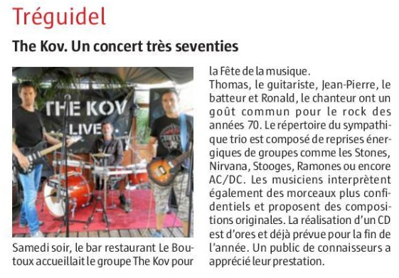 Fête de la Musique à Tréguidel