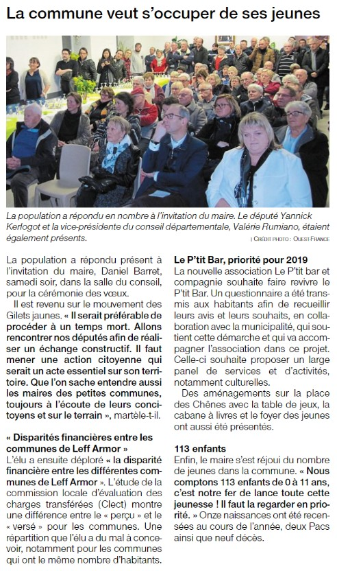 Ouest France 30.01.2019